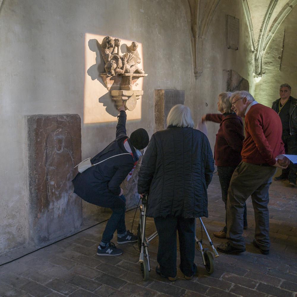 Eindruck vom Tag des offenen Domkreuzgangs (19. April 2015). © Hagen Horoba