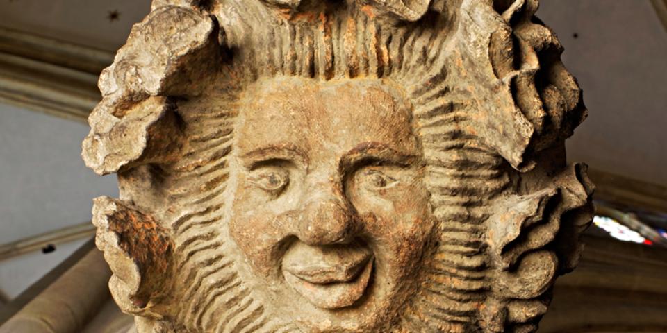 Unterseite einer Figurenkonsole. © Florian Monheim